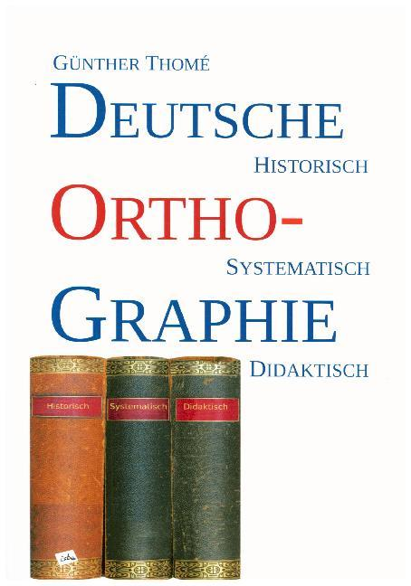 Cover Deutsche Orthographie