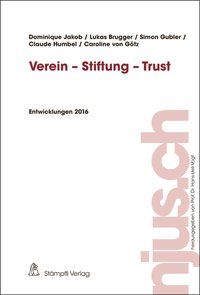 Cover Verein - Stiftung - Trust