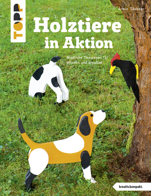Cover Holztiere in Aktion