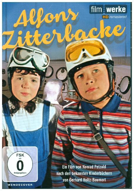 Cover Alfons Zitterbacke, 1 DVD