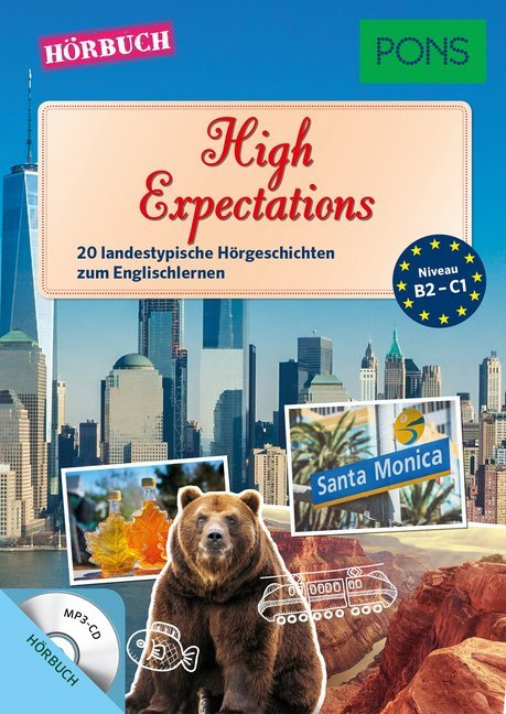PONS Hörbuch Englisch - High Expectations. Audio-CD
