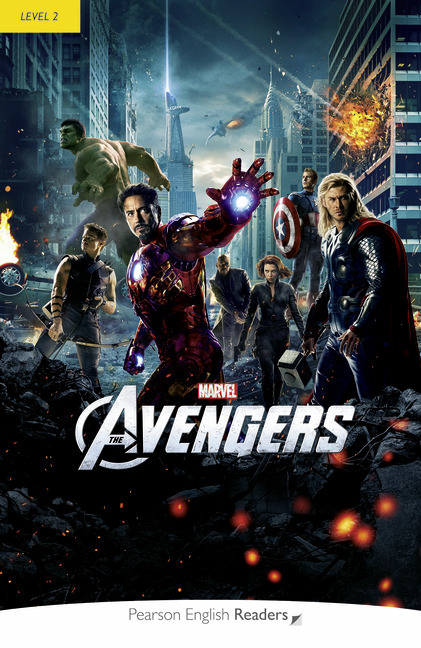 Level 2: Marvel's The Avengers Book & MP3 Pack