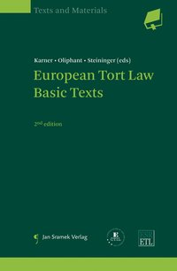 Cover European Tort Law