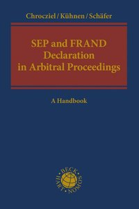 Cover SEP and FRAND Declaration in Arbitral Proceedings