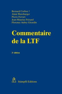 Cover Commentaire de la LTF