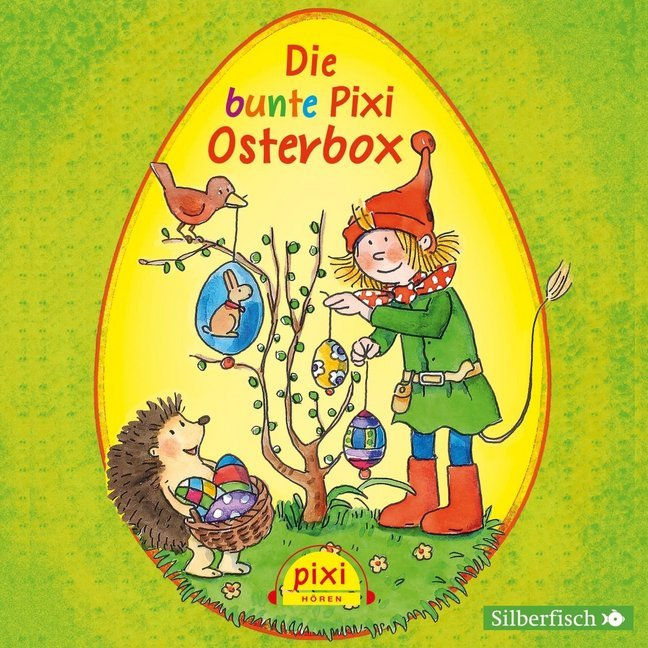 Cover Die bunte Pixi-Osterbox, 3 Audio-CDs