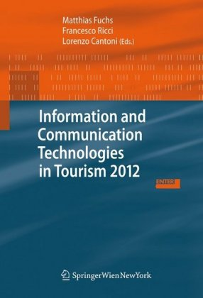 Cover Information and Communication Technologies in Tourism