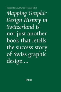Cover Mapping Graphic Design History in Switzerland