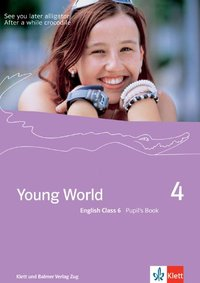 Cover Young World 4. English Class 6