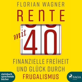 Cover Rente mit 40, 1 Audio-CD, MP3 Format