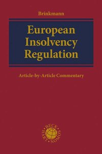 Cover European Insolvency Regulation