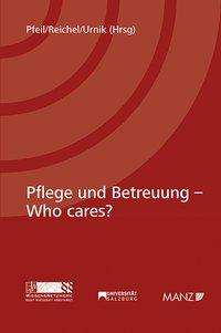 Cover Pflege und Betreuung - Who cares?