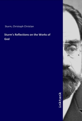 Cover Sturm's Reflections on the Works of God