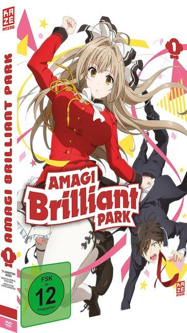 Amagi Brilliant Park - DVD 1