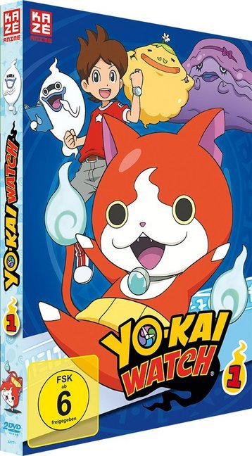 Yo-kai Watch. Nr.1, 2 DVD
