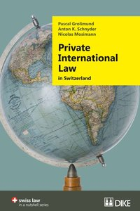 Cover Private International Law in Switzerland