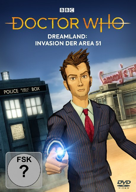 Doctor Who - Dreamland: Invasion der Area 51, 1 DVD