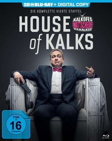Cover Kalkofes Mattscheibe Rekalked!. Staffel.4, 1 Blu-ray (SD on Blu-ray)