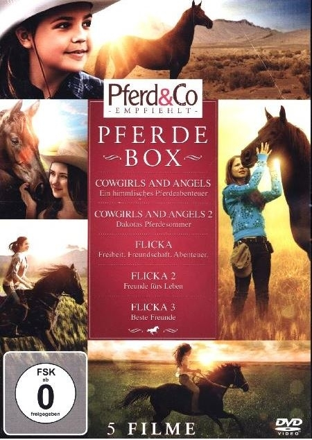 Pferdebox, 5 DVDs