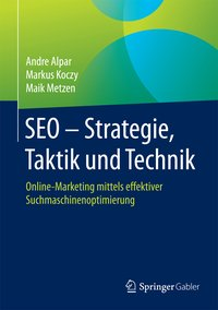 Cover SEO - Strategie, Taktik und Technik