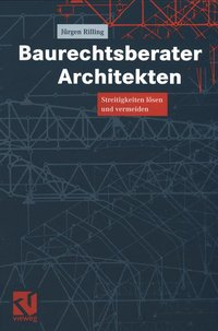 Cover Baurechtsberater Architekten