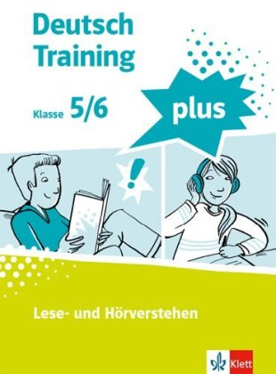 Cover Deutsch Training plus 1. Lese- und Hörverstehen