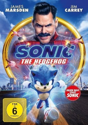 Sonic the Hedgehog, 1 DVD