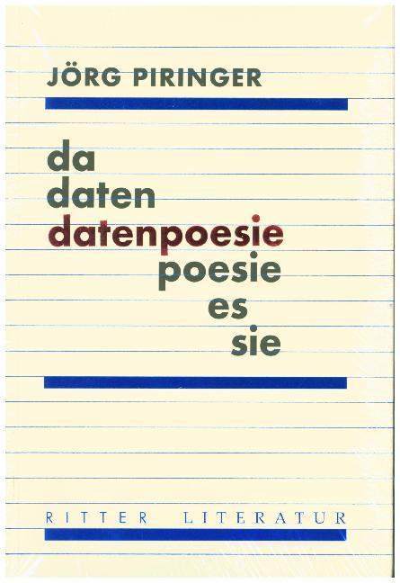 Cover datenpoesie