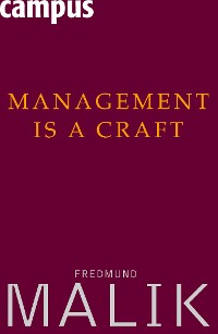 Management Is a Craft