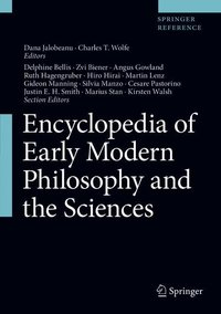 Cover Encyclopedia of Early Modern Philosophy and the Sciences