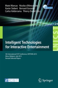 Cover Intelligent Technologies for Interactive Entertainment