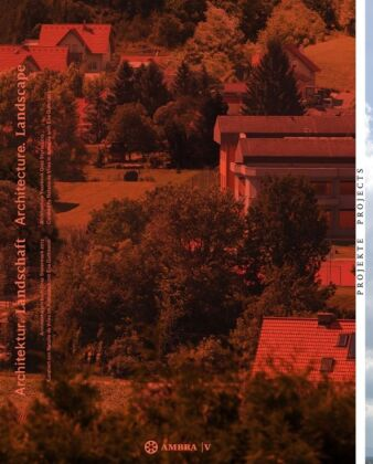 Cover Architektur. Landschaft / Architecture. Landscape