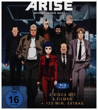 Ghost in the Shell - ARISE: Komplettbox  BD