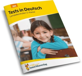 Cover Tests in Deutsch - Lernzielkontrollen 3. Klasse