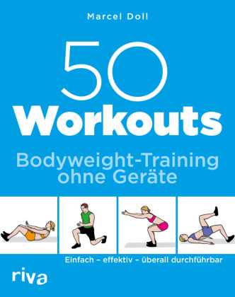Cover 50 Workouts - Bodyweight-Training ohne Geräte