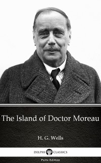 Cover Island of Doctor Moreau by H. G. Wells (Illustrated)