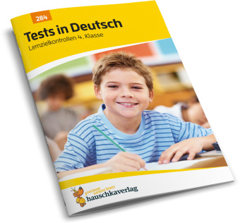 Cover Tests in Deutsch - Lernzielkontrollen 4. Klasse