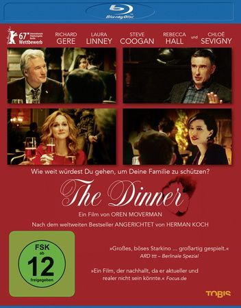 The Dinner, 1 Blu-ray