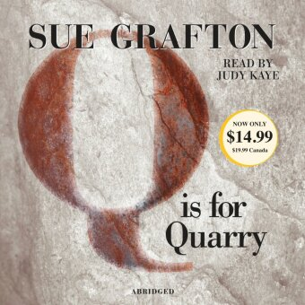 Q Is For Quarry, 4 Audio-CDs