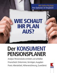 Cover Der KONSUMENT-Pensionsplaner