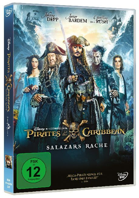 Pirates of the Caribbean: Salazars Rache - DVD