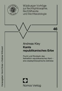 Cover Kants republikanisches Erbe