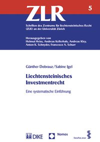 Cover Liechtensteinisches Investmentrecht