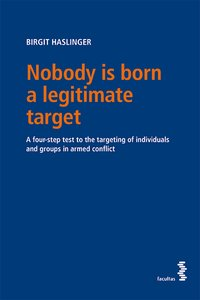 Cover Nobody is born a legitimate target