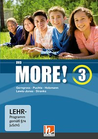 MORE! 3 DVD, für General Course und Enriched Course