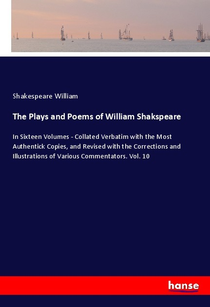 Cover The Plays and Poems of William Shakspeare