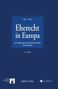 Cover Eherecht in Europa