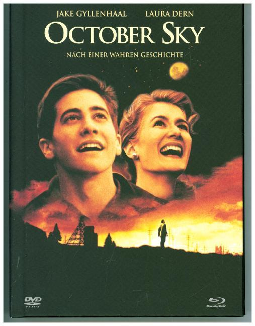 October Sky - 2-Disc Limited Collector's Edition im Mediabook. Blu-ray + DVD