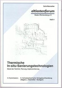 Cover Thermische In-situ-Sanierungstechnologien