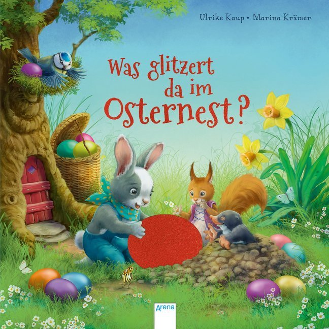 Cover Was glitzert da im Osternest?